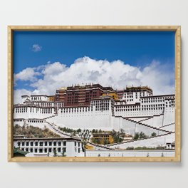 Potala palace in Lhasa - Tibet Serving Tray