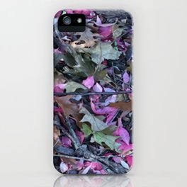 Mother Nature's Tea iPhone Case