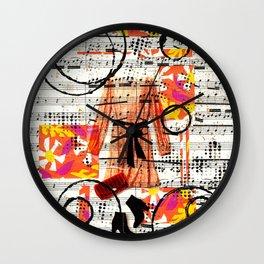 Spring Fashionista Wall Clock