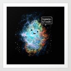A Star Is Born Art Print