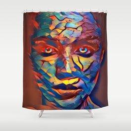 She No.10 Shower Curtain