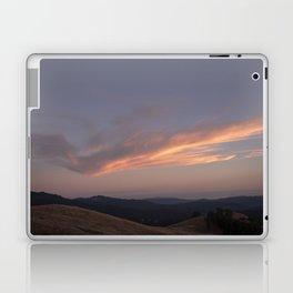 The cloud mimicking the mountain Laptop & iPad Skin