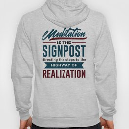 Meditation To Realization Hoody