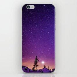 Purple Skies iPhone Skin