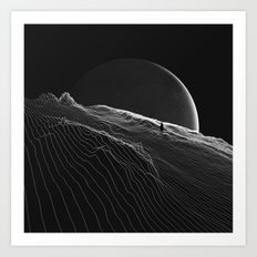 Private version of the world Art Print