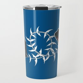 Character collection saltwater fish eaten Travel Mug
