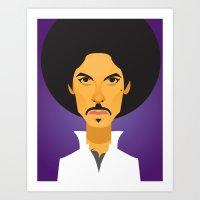 Afro Prince Art Print