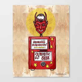 Twilight Zone Mystic Seer Canvas Print