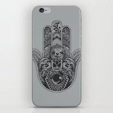 Hamsa Hand Sloth iPhone & iPod Skin