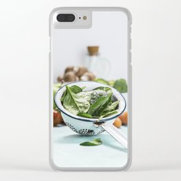 fresh vegetables Clear iPhone Case