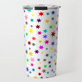 Colorful stars Travel Mug