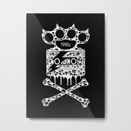 Alternative Rock Metal Print