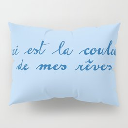 In the style of Miro this is the color of my dreams Pillow Sham