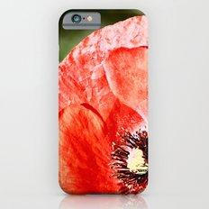 RED POPPY iPhone 6s Slim Case
