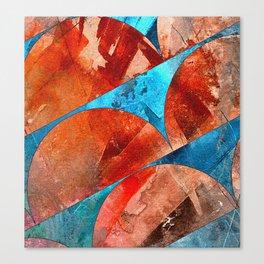 Wonderful Half World Canvas Print