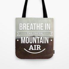 Mountain Air Tote Bag