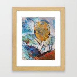 Take Off! Framed Art Print