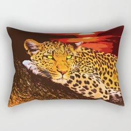 leopart Rectangular Pillow