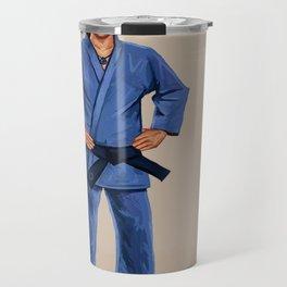 Karate Elf Travel Mug