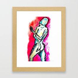 """""""Beggar"""" Framed Art Print"""