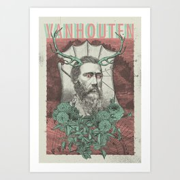 Vanhouten Band Art Print