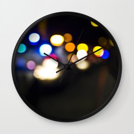 New York Lights Wall Clock