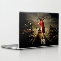 siren Laptop & iPad Skins featuring Siren by Galen Valle