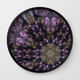 Mindless Coral Mandala Wall Clock