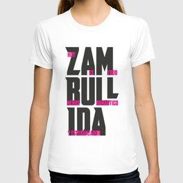 ZAMBULLIDA Frases 02 T-shirt