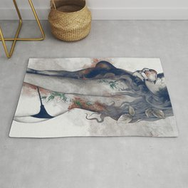 Koi No Yokan: Blue Rust Rug