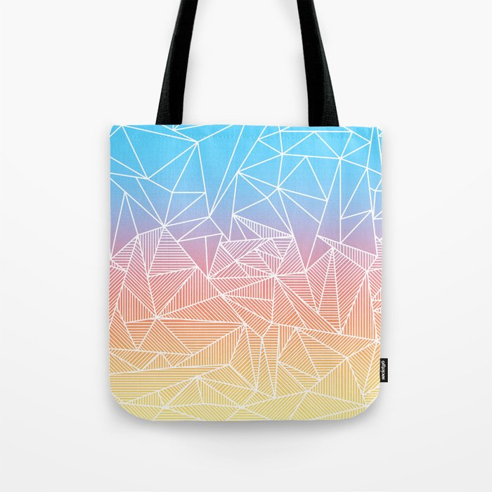 Bakana Rays Tote Bag