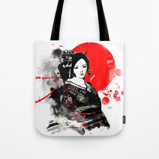 Kyoto Geisha Japan Tote Bag