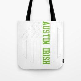 Austin Irish prints by Howdy Swag graphic Tote Bag