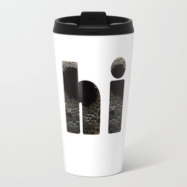 hi coffee Travel Mug