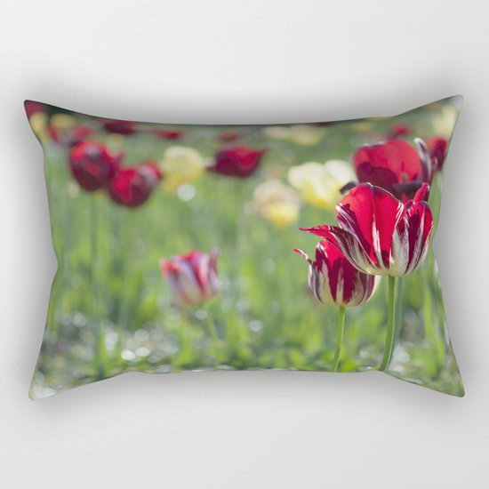 Spring is all over Rectangular Pillow