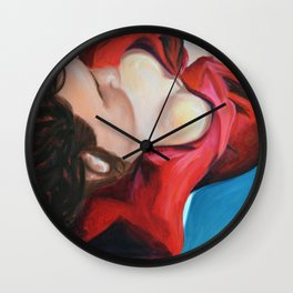 Restless Dreams Wall Clock