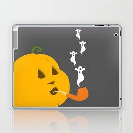 Halloween Smoking Jack o Lantern Laptop & iPad Skin