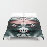 flight Duvet Covers featuring Flight by J Coe Photography