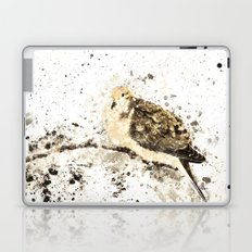Mourning Dove Splatter Laptop & iPad Skin