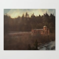 Old brewhouse Canvas Print