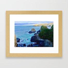 Rugged Coast Framed Art Print