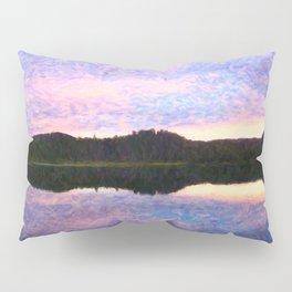 Purple Glow Pillow Sham
