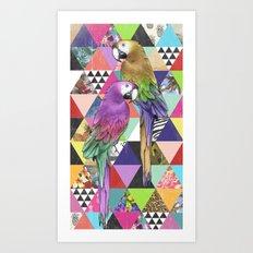 A bit of tropical geometry Art Print