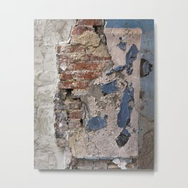 wall. Metal Print