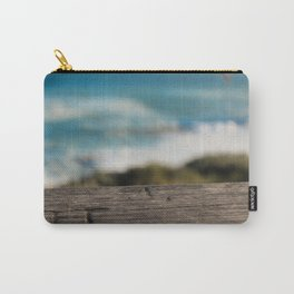 Wooden Carving Carry-All Pouch