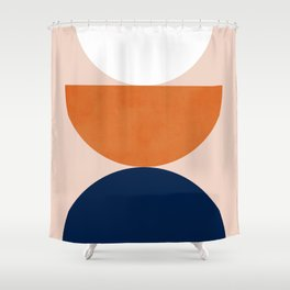 Abstraction_Balance_Minimalism_001 Shower Curtain