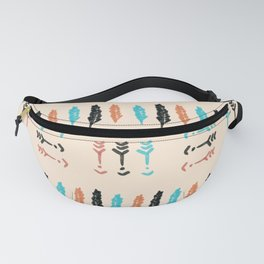 Arrows and Feathers Fanny Pack