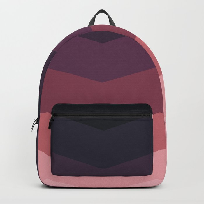 Purple Thunder Storm Backpack