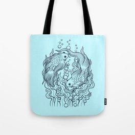 Golden fish 2 Tote Bag
