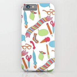 Quirky Pattern iPhone Case